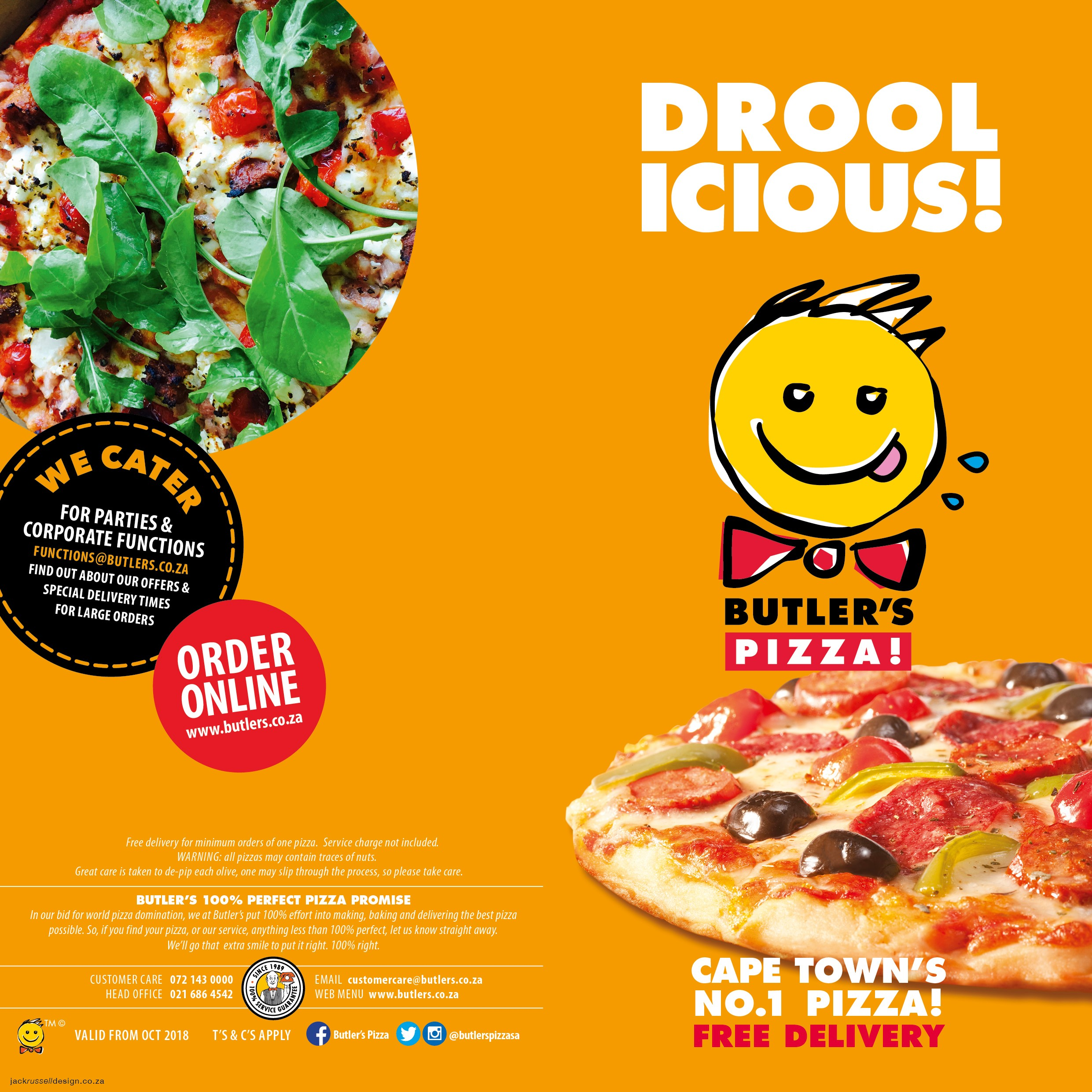 Pizza Places Open On Christmas.Butler S Pizza Cape Town S No 1 Pizza